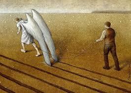 om și înger