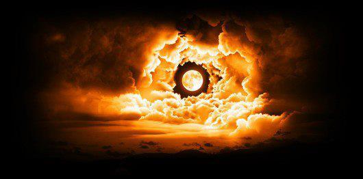 soare in nori